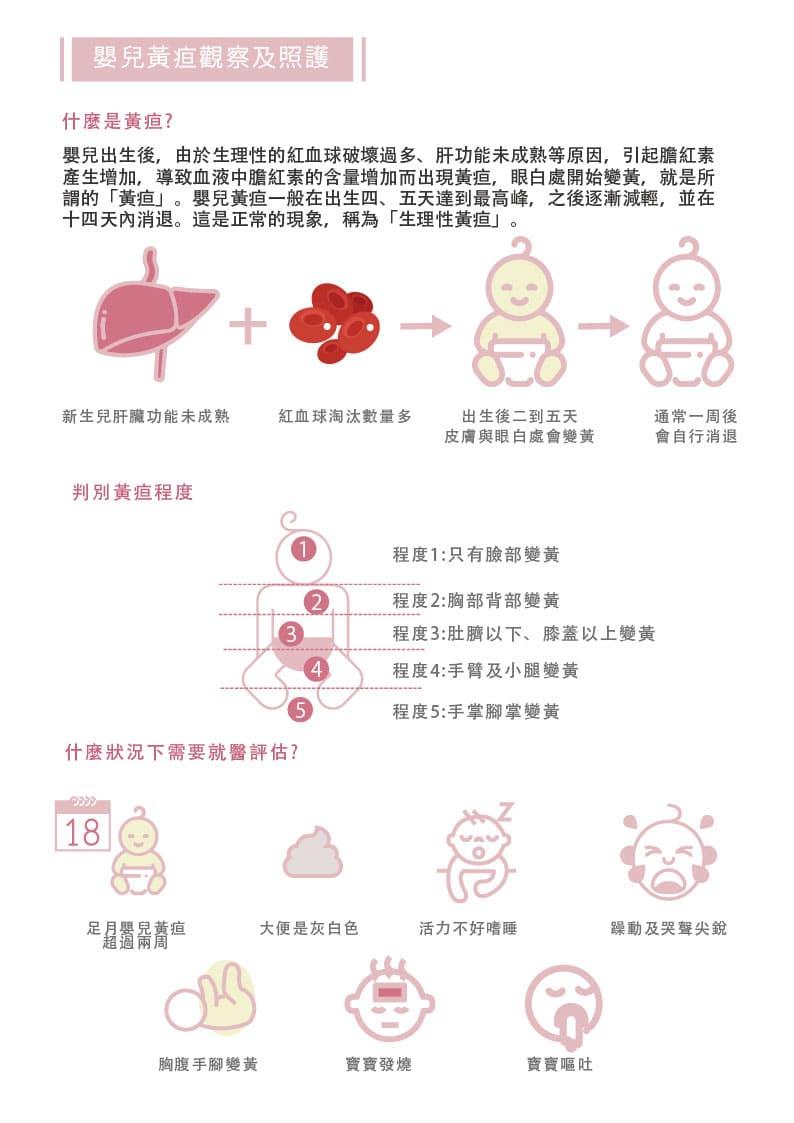 寶寶黃疸照護